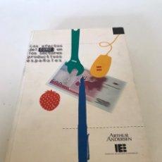 Libros de segunda mano: LOS EFECTOS DE EURO EN LOS SECTORES PRODUCTIVOS ESPAÑOLES. Lote 235788620