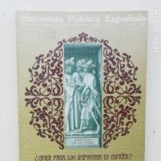 Libros de segunda mano: HACIENDA PUBLICA ESPAÑOLA. Lote 236276490
