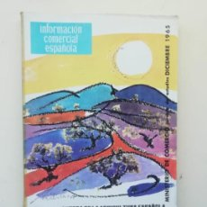 Libros de segunda mano: INFORMACIÓN COMERCIAL ESPAÑOLA. Lote 236666860