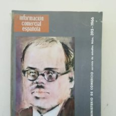Libros de segunda mano: INFORMACIÓN COMERCIAL ESPAÑOLA. Lote 236666930