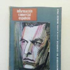 Libros de segunda mano: INFORMACIÓN COMERCIAL ESPAÑOLA. Lote 236667000
