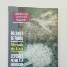 Libros de segunda mano: INFORMACIÓN COMERCIAL ESPAÑOLA. Lote 236667020