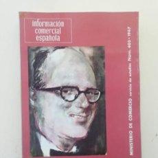 Libros de segunda mano: INFORMACIÓN COMERCIAL ESPAÑOLA. Lote 236667055