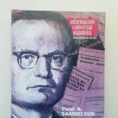 Libros de segunda mano: INFORMACIÓN COMERCIAL ESPAÑOLA. Lote 236667100