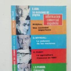 Libros de segunda mano: INFORMACIÓN COMERCIAL ESPAÑOLA. Lote 236667160