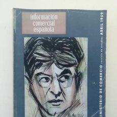 Libros de segunda mano: INFORMACIÓN COMERCIAL ESPAÑOLA. Lote 236667355