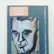 Libros de segunda mano: INFORMACIÓN COMERCIAL ESPAÑOLA. Lote 236667855