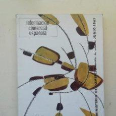 Libros de segunda mano: INFORMACIÓN COMERCIAL ESPAÑOLA. Lote 236668135