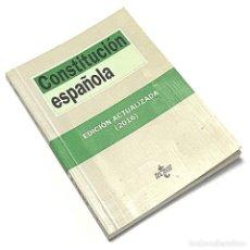 Libros de segunda mano: CONSTITUCIÓN ESPAÑOLA. Lote 237065140