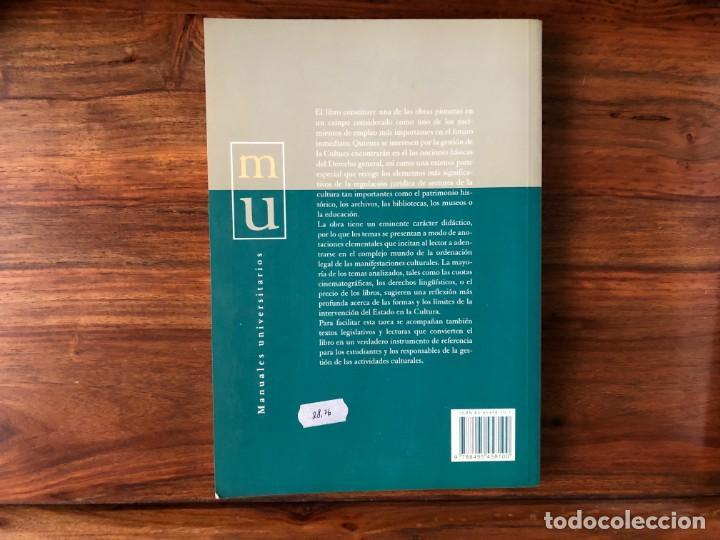 Libros de segunda mano: Derecho y cultura. Prontuario elemental para estudiantes de Humanidades. C. Pedrós Reig. Atelier - Foto 2 - 240193165