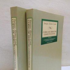 Libri di seconda mano: DERECHO CONSTITUCIONAL VOL. I Y II. ENRIQUE ALVAREZ CONDE . ED. TECNOS .... MUY BUEN ESTADO!!. Lote 242377530