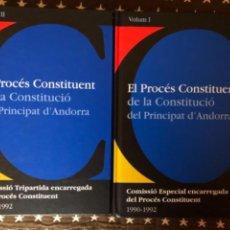 Libros de segunda mano: EL PROCES CONSTITUENT ANDORRA. Lote 242998555