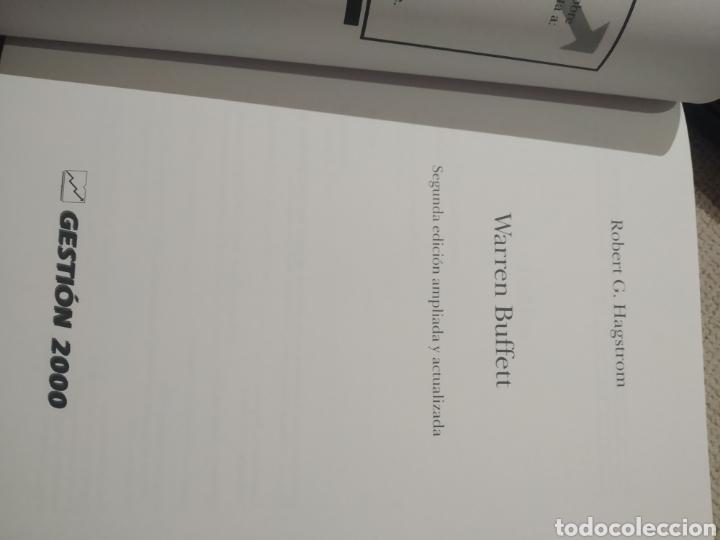 Libros de segunda mano: Warren buffett. Gestión 2000. Robert G. hagstrom. Segunda edición - Foto 3 - 243311455
