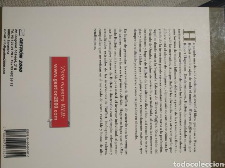Libros de segunda mano: Warren buffett. Gestión 2000. Robert G. hagstrom. Segunda edición - Foto 5 - 243311455