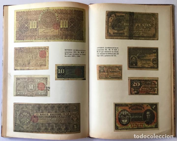 Libros de segunda mano: ACTAS DEL BANCO NACIONAL DE 1891 A 1894. Edición facsimilar de seguros Colombia. - Foto 6 - 244478835
