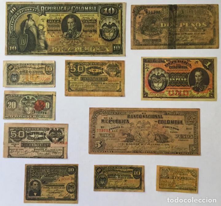 Libros de segunda mano: ACTAS DEL BANCO NACIONAL DE 1891 A 1894. Edición facsimilar de seguros Colombia. - Foto 7 - 244478835