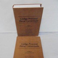 Libros de segunda mano: CODIGO PROCESAL PENAL COMENTADO . TOMO I Y II. CORTE SUPREMA DE JUSTICIA. R. DEL SALVADOR 2001.. Lote 244600735