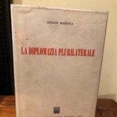Libros de segunda mano: LA DIPLOMAZIA PLURILATERALE ADOLFO MARESCA. Lote 244694235