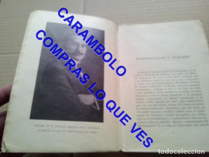 Libros de segunda mano: EL PRIMER TRIBUNAL DE MENORES DE ESPAÑA GABRIEL Mª DE YBARRA 1925 G8 - Foto 8 - 247162575