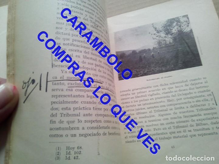 Libros de segunda mano: EL PRIMER TRIBUNAL DE MENORES DE ESPAÑA GABRIEL Mª DE YBARRA 1925 G8 - Foto 10 - 247162575