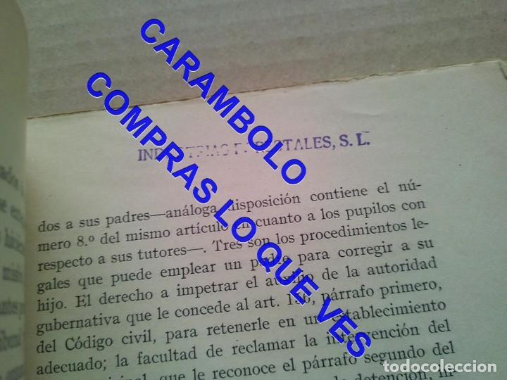 Libros de segunda mano: EL PRIMER TRIBUNAL DE MENORES DE ESPAÑA GABRIEL Mª DE YBARRA 1925 G8 - Foto 12 - 247162575