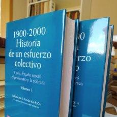 Libros de segunda mano: 1900-2000 HISTORIA DE UN ESFUERZO COLECTIVO, JUAN VELARDE, ED. PLANETA. 2000 RARO. Lote 248727390