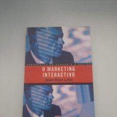 Libros de segunda mano: O MARKETING INTERACTIVO. Lote 249257725