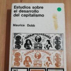 Libri di seconda mano: ESTUDIOS SOBRE EL DESARROLLO DEL CAPITALISMO (MAURICE DOBB). Lote 252785485
