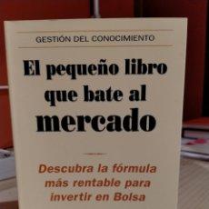 Livres d'occasion: GREENBLATT, EL PEQUEÑO LIBRO QUE BATE AL MERCADO. Lote 253142905