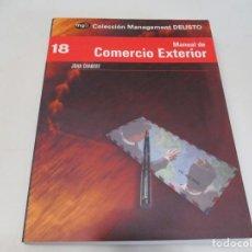Libros de segunda mano: JOAN CHABERT MANUAL DE COMERCIO EXTERIOR W6365. Lote 253153545