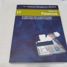Libros de segunda mano: MASTER EN FINANZAS W6367. Lote 253154360