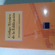 Libri di seconda mano: CODIGO TECNICO DE LA EDIFICACION, JAVIER GARCÍA GIL, DAVID GARCÍA ABANCENS T25. Lote 253621465