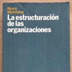 Libros de segunda mano: LA ESTRUCTURA DE LAS ORGANIZACIONES. HENRY MINTZBERG. ARIEL ECONOMÍA 1995.. Lote 138123158