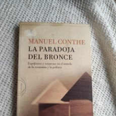 Livres d'occasion: LA PARADOJA DEL BRONCE. CRITICA / MANUEL CONTHE.. Lote 254438495