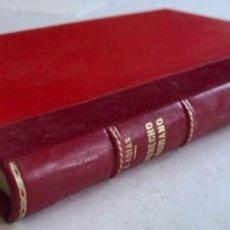 Libros de segunda mano: COMPENDIO DE DERECHO PÚBLICO ROMANO E HISTORIA DE LAS FUENTES POR JOSÉ ARIAS RAMOS. ED. CLARES, 1968. Lote 272433863