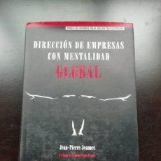 Libros de segunda mano: DIRECCIÓN DE EMPRESAS CON MENTALIDAD. Lote 257462885
