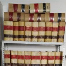 Libros de segunda mano: JURISPRUDENCIA Y LEGISLACIÓN ARANZADI, DESDE AÑO 1960 HASTA 1979, 45 VOLÚMENES.. Lote 257732655