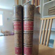 Libros de segunda mano: CONTESTACIONES A LA PARTE DE DERECHO CIVIL, COMÚN Y FORAL, FRANCISCO DE LA ESCOSURA, 1903. RARO. Lote 260370410