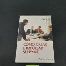 Libros de segunda mano: COMO CREAR E IMPULSAR SU PYME. Lote 261618625