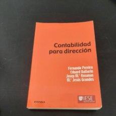 Libros de segunda mano: CONTABILIDAD PARA DIRECCIÓN. Lote 261628555