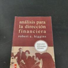 Libros de segunda mano: ANALISIS PARA LA DIRECCIÓN FINANCIERA. Lote 261635210