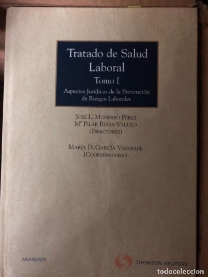 TRATADO DE SALUD LABORAL MONEREO (Libros de Segunda Mano - Ciencias, Manuales y Oficios - Derecho, Economía y Comercio)