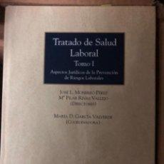 Libros de segunda mano: TRATADO DE SALUD LABORAL MONEREO. Lote 263020800