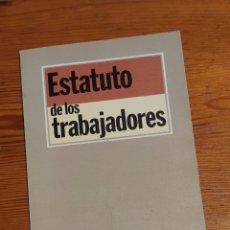 Libros de segunda mano: ESTATUTO DE LOS TRABAJADORES - ED. TECNOS, 1988. Lote 263152340