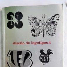 Libros de segunda mano: DISEÑO DE LOGOTIPOS 4. Lote 263158080