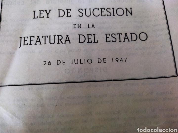 Libros de segunda mano: lote de 6 boletines de leyes creadas en la posguerra años 40 - Foto 2 - 263189485