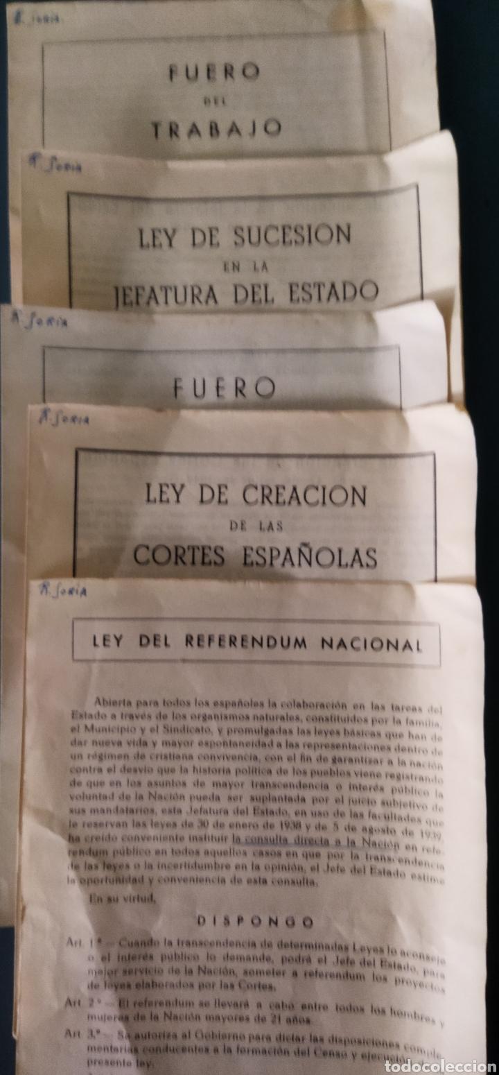 Libros de segunda mano: lote de 6 boletines de leyes creadas en la posguerra años 40 - Foto 3 - 263189485