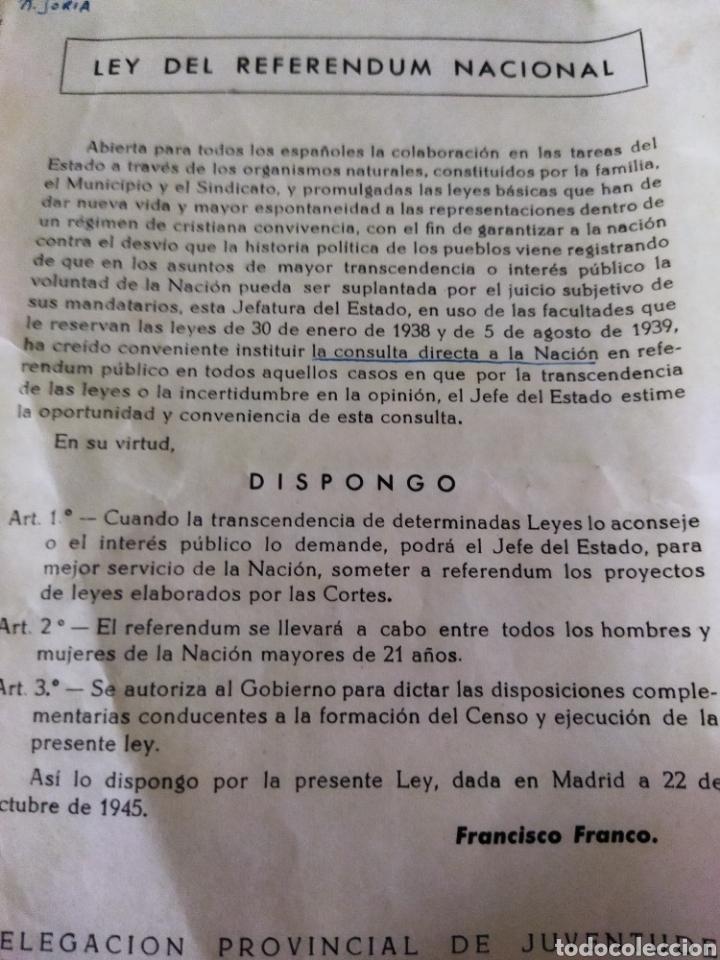 Libros de segunda mano: lote de 6 boletines de leyes creadas en la posguerra años 40 - Foto 4 - 263189485