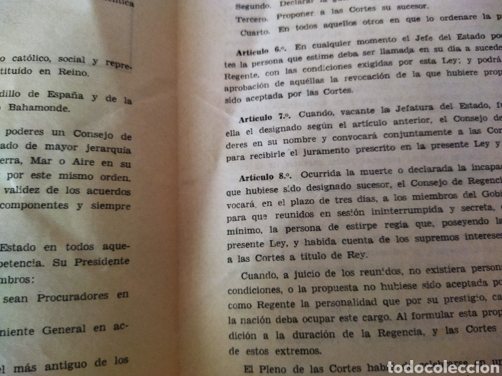 Libros de segunda mano: lote de 6 boletines de leyes creadas en la posguerra años 40 - Foto 7 - 263189485