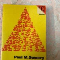 Libros de segunda mano: PAUL M SWEEZZY,TEORÍA DEL DESARROLLO CAPITALISTA. Lote 263669765